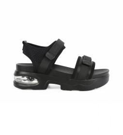Sandalia Eloisa 01 negro -Altura de la plataforma: 5,5 cm-