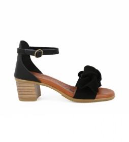 Sandalias de piel Tivoli 02 negro