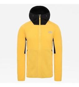 The North Face Kabru sweatshirt yellow