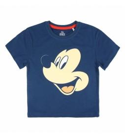 Pijama Corto Single Mickey marino