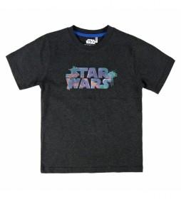 Camiseta Premium Star Wars negro