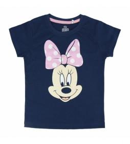 Pijama Corto Single Minnie marino
