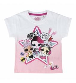 Pijama Corto Single LOL fúcsia