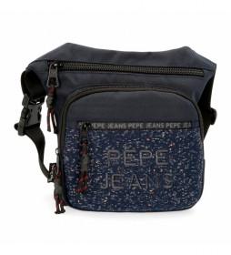Riñonera Pepe Jeans Hike azul -31.5x24x1.5cm-