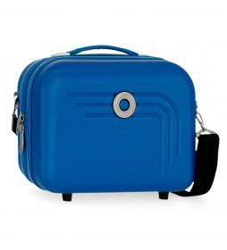 Neceser Movom Riga ABS Adaptable azul claro -29x21x15cm-