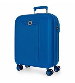 Maleta de Cabina Movom Riga Expandible azul claro -40x55x20cm-