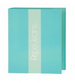 Carpeta de Anillas Pepe Jeans Darienne verde -280x330x50mm-