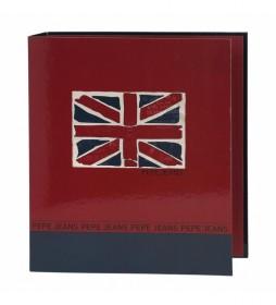 Carpeta de Anillas Pepe Jeans  rojo -288x330x50mm-