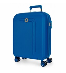 Maleta de cabina Movom Riga rígida 55cm azul -40x55x20cm-