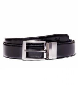 Cinturón de piel Reversible marino