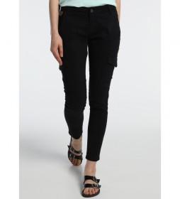 Pantalones Multibolsillos Multi Bloog negro