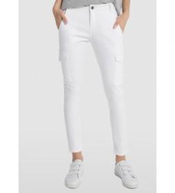 Pantalones Multibolsillos Multi Bloog blanco
