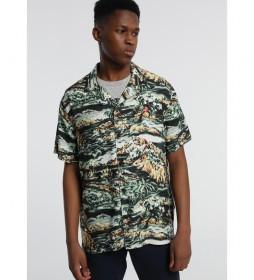 Camisa Isla Jungle Oswald Hagan verde