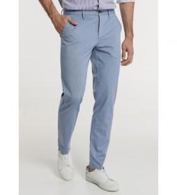 Pantalón Chino Oxford azul