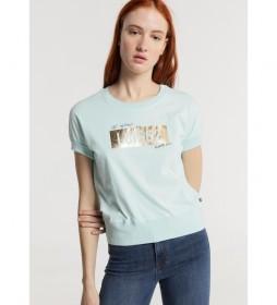 Camiseta Gráfica Bluma-Herb azul