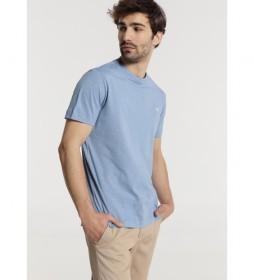 Camiseta Básica Lisa azul