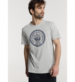 Camiseta Manga Corta gris