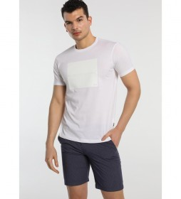 Camiseta Aplicación blanco