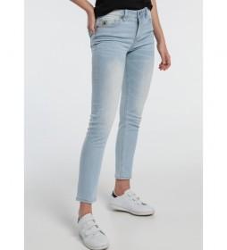 Jeans 1962- Seven-Kedar azul claro