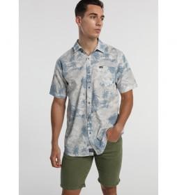 Camisa Huracan-Olive-Helue azul