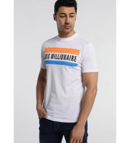 Camiseta Millonaire Porshe-Primo blanco