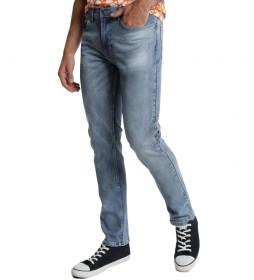 Jeans denim Comfort azul