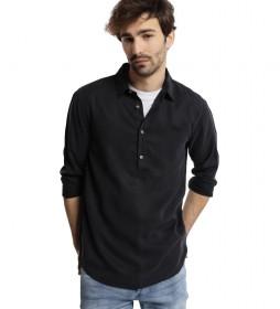 Camisa M/L Polera Tenzel negro