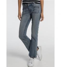 Jeans  Bols.Plaston Agata-Grace azul