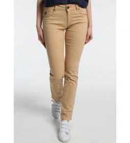 Jeans Slimmy-Kesade beige