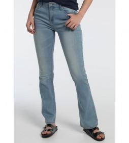 Jeans Lua Boot-Hale denim