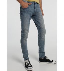 Jeans Marvin Cigarrete-Fergus gris