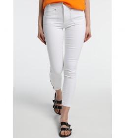 Pantalones pitillo -Jewel-Jess blanco