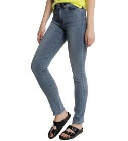 Jeans Denim Blue Caja Alta azul azul