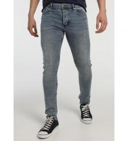 Jeans Pitillo azul