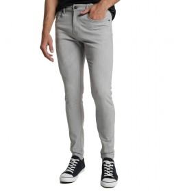 Jeans Denim Grey Skinny gris