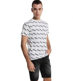 Camiseta Multibrand blanco