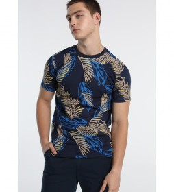 Camiseta Ocean Print azul