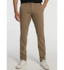 Pantalón Básico Chino marrón