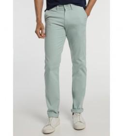 Pantalón Básico Chino azul