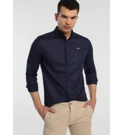 Camisa Lisa marino