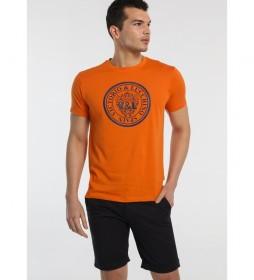 Camiseta Círculo naranja