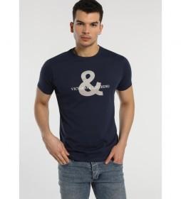 Camiseta Logo marino
