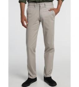 Pantalones chinos Tetuan-Greco gris