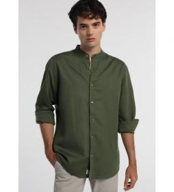 Camisa Lino-Orly-Grania kaki