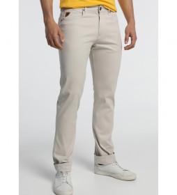 Pantalones -Marvin-LY-Raidis beige
