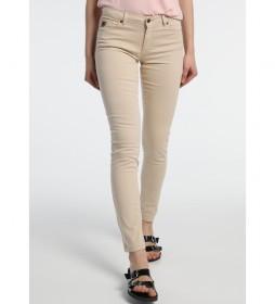 Pantalones Coty-Bloog beige
