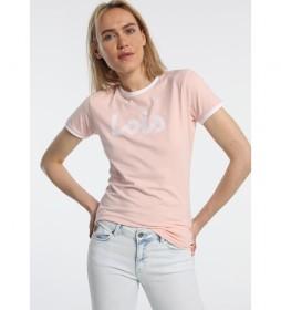 Camiseta básica Must-Have salmón