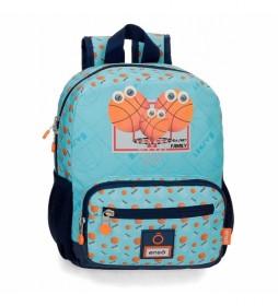Mochila Enso Basket Family Preescolar Adaptable -23x28x10cm-