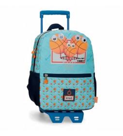 Mochila Enso Basket Family con Carro -25x32x12cm-