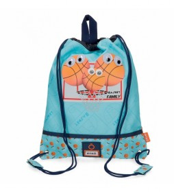 Bolsa de Merienda Enso Basket Family -27x34x0,5cm-